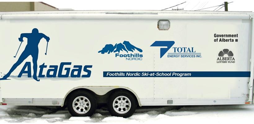 AltaGas Ski at School Program   Foothills Nordic Ski Club